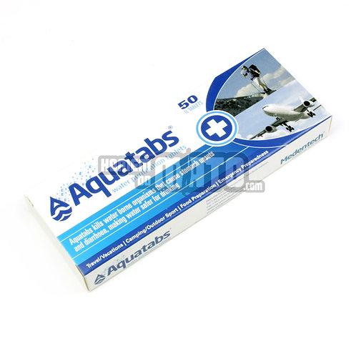 Aquatabs, pastilhas purificação de Água