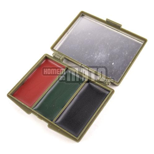 Kit Camuflagem 3 cores com espelho