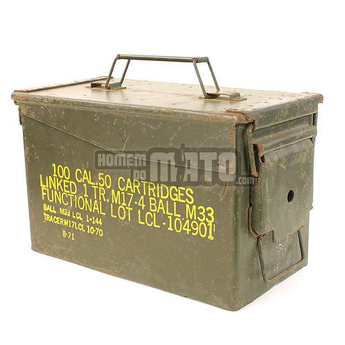 Caixa de Munições US Cal. 50mm