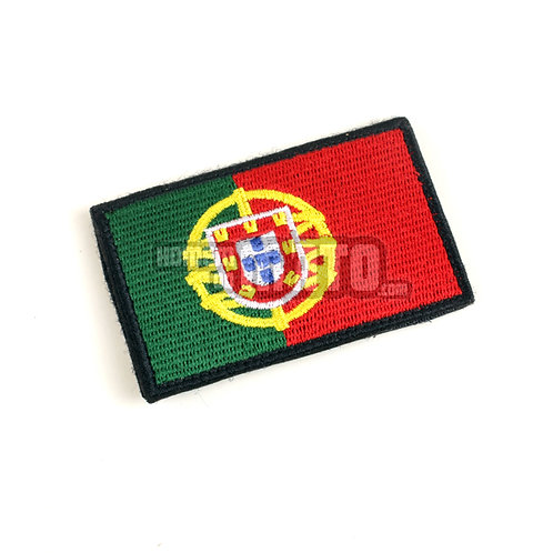 Bandeira Velcro Portugal 8x5