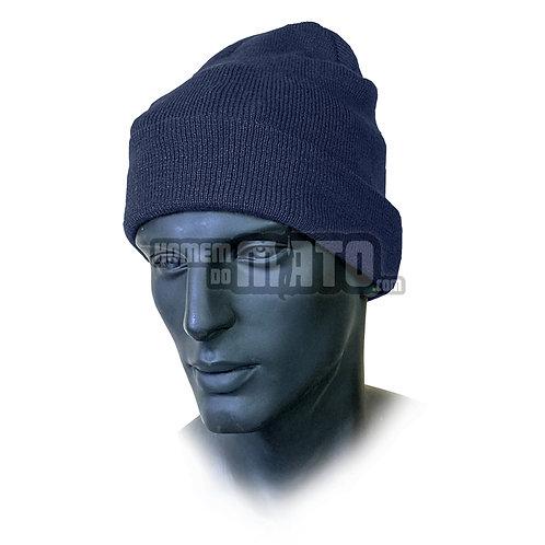 Gorro Azul 100% Lã