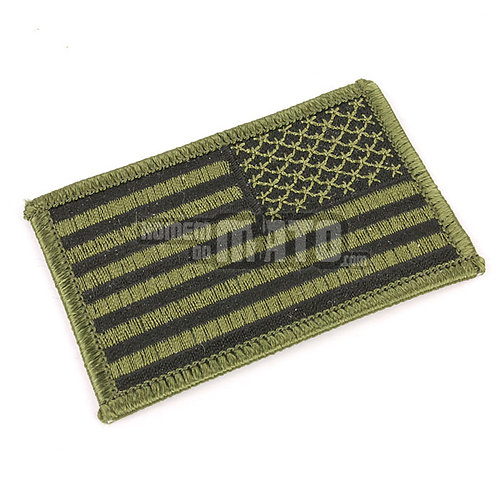 Patch bandeira US, Verde