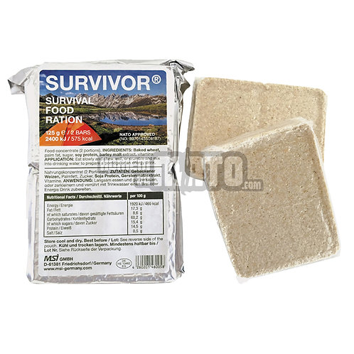 MSI Emergency Rations Survivor