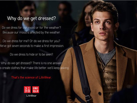 Uniqlo launches first global branding campaign
