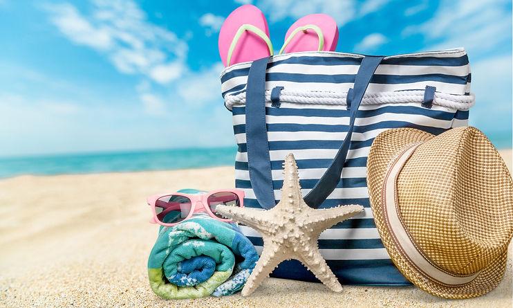 Beach, Summer, Group of Objects..jpg