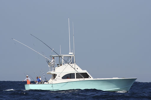 Sport Fishing Boat in the Gulf Stream Re