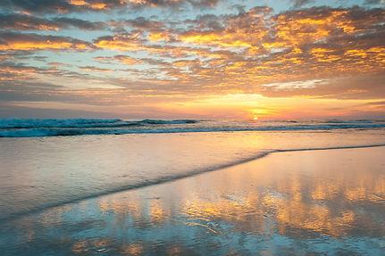 North Carolina Outer Banks Sunrise Pea I