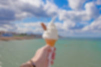 Ice cream cone by the seaside.jpg