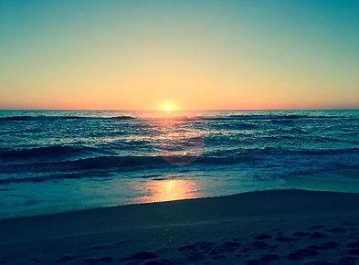 Sunrise at SEAcret Treasure in Rodanthe, on Hatteras Island, North Carolina.