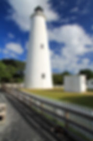 Historic Ocracoke Light on Ocracoke Isla