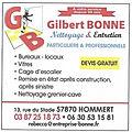 Entretien & Nettoyage Gilbert BONNE