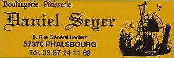 Boulangerie - Pâtisserie Daniel SEYER