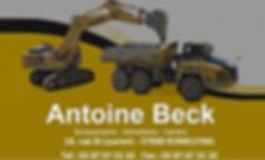 Antoine BECK Terrassements