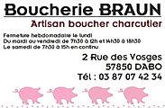 Boucherie BRAUN