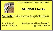 Boulangerie SCHLOSSER Patrice