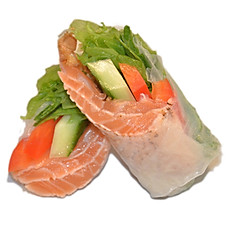 Salmon Summer Roll