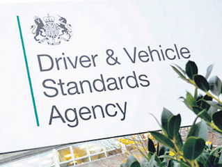 Latest from Driver and Vehicle Standards Agency