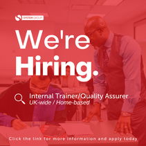 Internal Trainer / Quality Assurer   |   UK-wide (home-based)