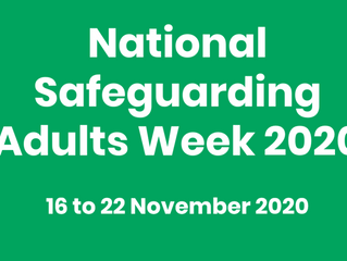 National Safeguarding Adults Week 2020
