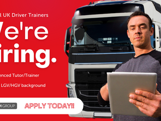 LGV/HGV Driver Trainer   |   United Kingdom