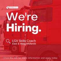 LGV Skills Coach   |   East & West Midlands (remote)