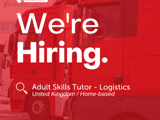 Adult Skills Tutor - Driving Goods Vehicle   |   UK (Home-based)