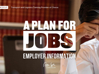 'Plan for Jobs' skills and employment programmes: Information for Employers