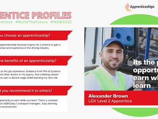 National Apprenticeship Week: #AskAnApprentice