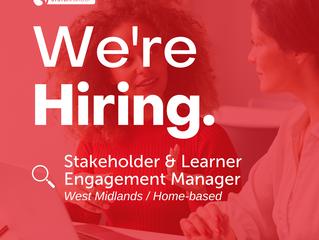Stakeholder & Learner Engagement Manager  |  West Midlands (home-based)