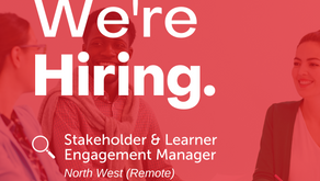 Stakeholder & Learner Engagement Manager   |   North West (remote)