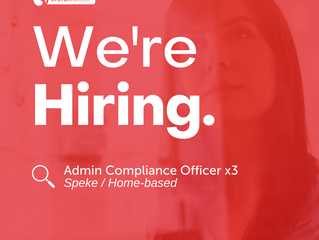Admin and Compliance Officer   |   Speke (Home-based)
