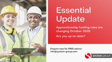 Essential Update: Changes to Apprenticeship Funding rules
