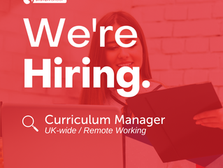 Curriculum Manager   |   UK-wide (Remote Working)