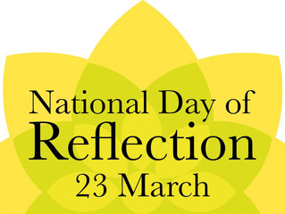 National Day of Reflection 23rd March 2021