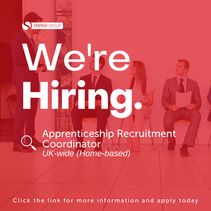 Apprenticeship Recruitment Coordinator (ARC)   |   UK-wide (Home-based)