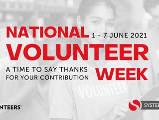 National Volunteer Week 1-7 June 2021