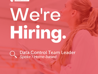 Data Control Team Leader   |   Speke (Home-based)
