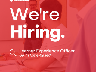 Learner Experience Officer   |   Home-based (occasional travel)