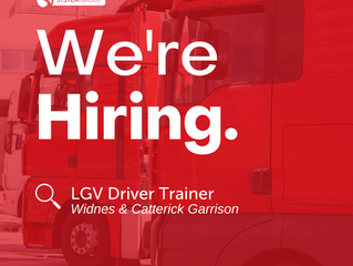 LGV Driver Trainer   |   Widnes & Caterick Garrison