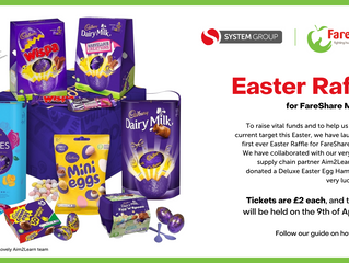 Easter Raffle for FareShare Midlands