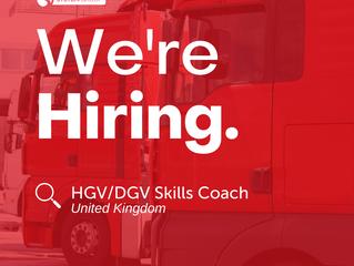 HGV/DGV Skills Coach   |   UK-wide