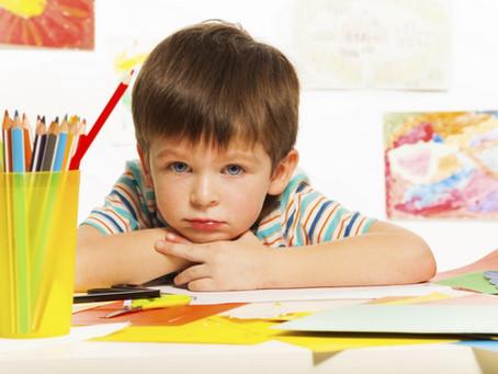 Meu filho tem dificuldade em aprender a ler e escrever