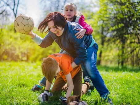 Os perigos do sedentarismo Infantil