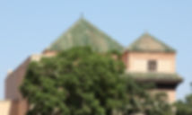 Medina, street, view, bab doukkala, dar el Bacha