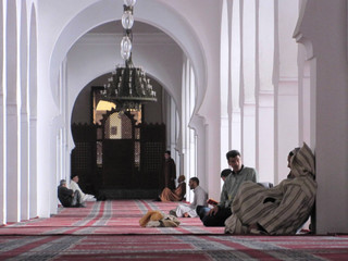 How Koutoubia Mosque look inside ?