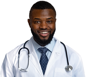 portrait-of-cheerful-black-doctor-with-s