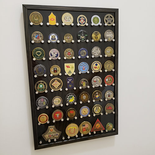 9mm Challenge Coin Display, 48ct