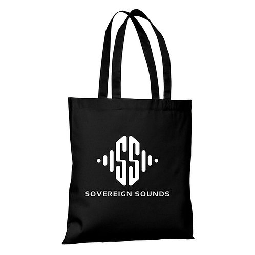 Sovereign Sounds Black Tote