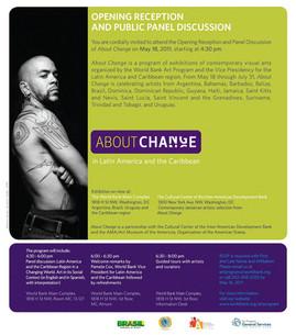 """About change"" (2011), World Bank of América Washington, DC"