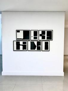 """Série """"Limites"""" (2016), Arte Formatto Galeria , Sao Paulo."""